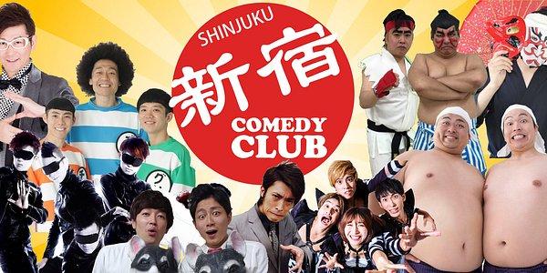 Unit famous Japanese comedian at Shinjuku.
