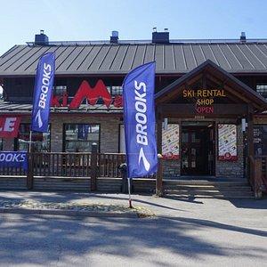 Ski and bike rental SkiMac Promenade Tahko