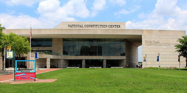 Front of the National Constitution Center