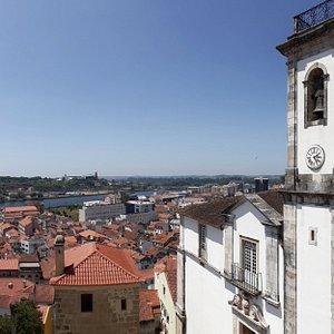 Fantástica vista sobre Coimbra a partir do Museu da Santa Casa da Misericórdia