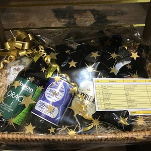 Why not choose a gift basket of beer for your loved one?? The perfect present!!