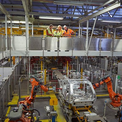 Land Rover Experience Manufacturing Tours