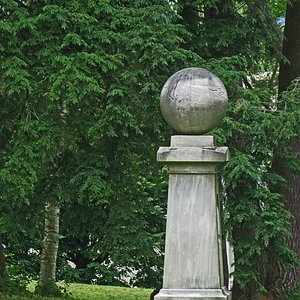 Haystack Monument commemorates an event that took place on the Williams College campus in 1806.