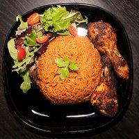 Jollof Rice & Chicken