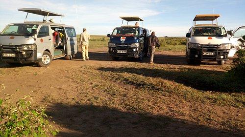In Masai Mara
