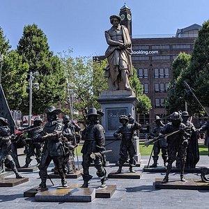 Rembrandt Monument