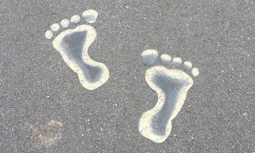 Follow the footsteps