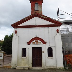la facciata della chiesetta
