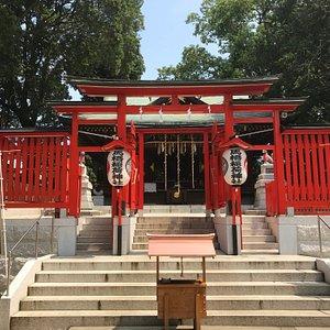 色鮮やかな神殿