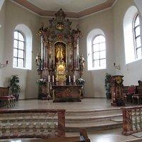 Chapelle Haus Maria Lindenberg (choeur et maître-autel)