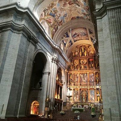 Interior de la Basílica.