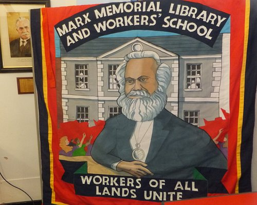 Marx Memorial Library and Workers' School Banner