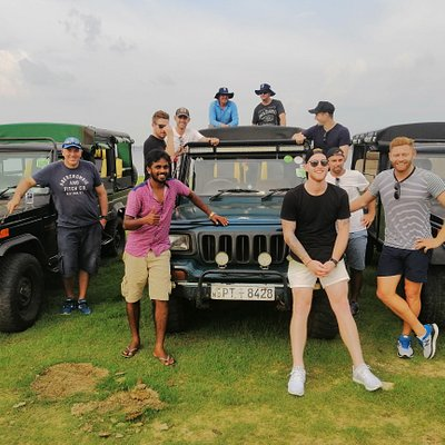Safari with England cricket Team