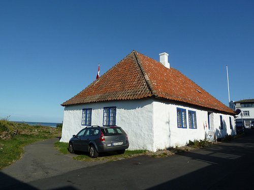 Den Gamle Rådstue i Sandvig på Bornholm