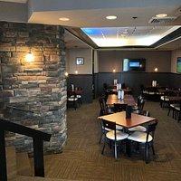 Inside Bar and Restaurant