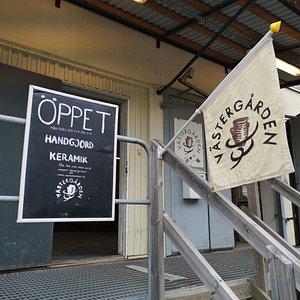 Shop entrance.