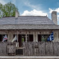 Louis Bolduc House, c.1788.  For tour tickets, proceed to the Centre for French Colonial Life at 198 Market Street