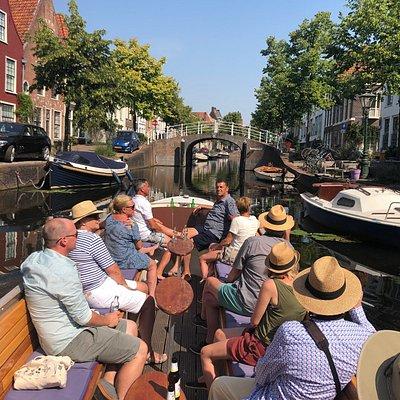 Rondvaart door Leiden