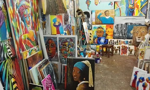 Paintings available at our stores in Nungwi and Stone Town