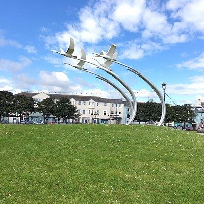 The Children of Lir: 4 Flying Swans