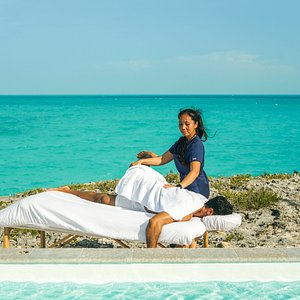 Need a good stretch while traveling? Include Thai stretching with your next massage at The Family Spa TCI. Health benefits include lowering stress, boosting energy, relieving muscular tension and improving athletic performance.