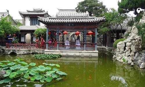 From the Weifang Shihu garden museum