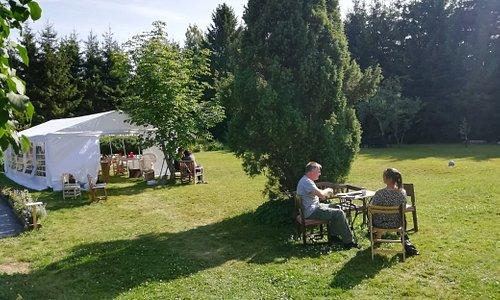 Garden Cafe Open Wensday-Saturday 11.00-17.00