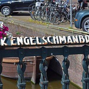 Амстердам. Мост Нико Энгельшмана