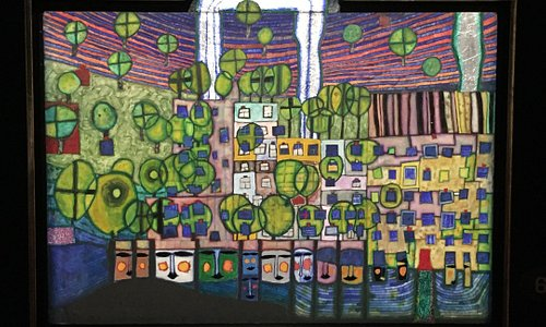 Hundertwasser Ausstellung im Kunstmuseum