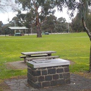 BBQ, picnic setting, shelter