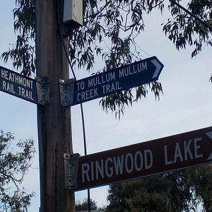 signpost in park