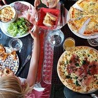 truffade et pizzas