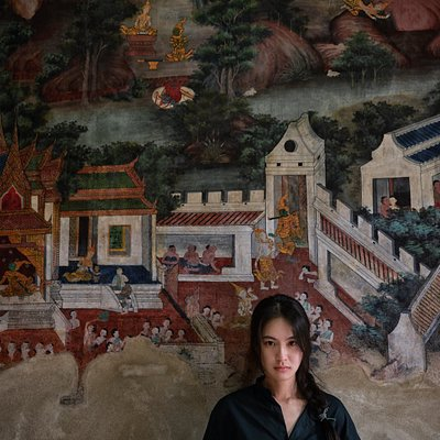 Wat Kamphaeng Bang Chak - a little temple by the cannel with beautiful mural art!  The surrounding community is worthy of some exploration to see the real local lives.