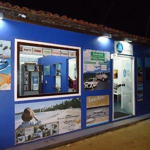 Frente da agência Bahia Terra