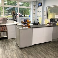 Our new counter area