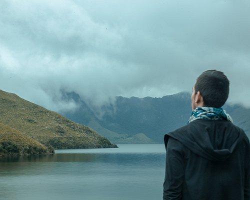 Perfil desde el Lago Mojanda