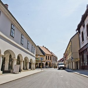The old Baroque core of the city is a must see when in Vukovar.