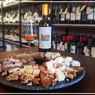 Snacks help wine to improve himself.  Enjoy with Georgian Wine...