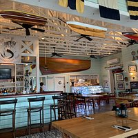 Main bar/restaurant area.