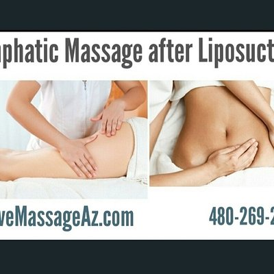 Lymphatic Massage after cosmetic surgery EvolveMassageAz.com