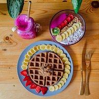 smoothies, smoothie bowls & waffles  - Matagalpa y Leon Nicaragua