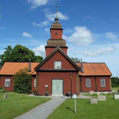 Roslags-Kulla Kyrka i Roslags-Kulla utanför Åkersberga