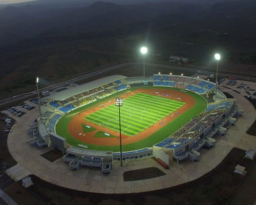 A casa do desporto Cabo-verdiano.