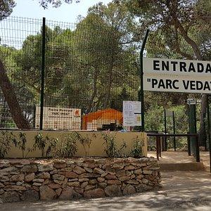 Entrada a la piscina pública de Parc Vedat.
