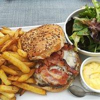 Le burger frites 🤩