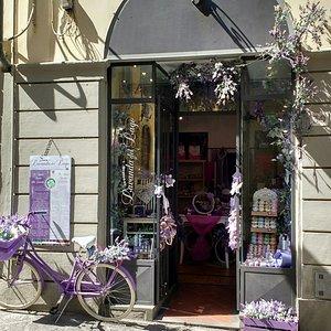 La bici lilla