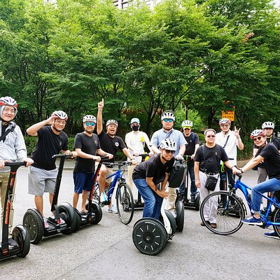Segway + e biking tour!