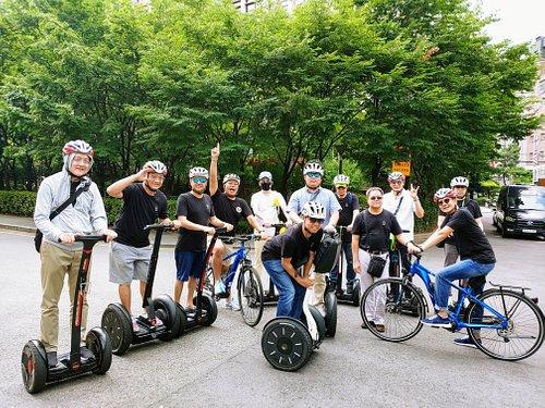 Segway + e biking tour!