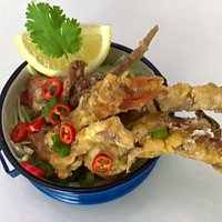 Salt & Chilli Soft Shell Crab