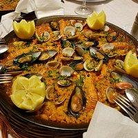 Paella Marinera Seafood Paella